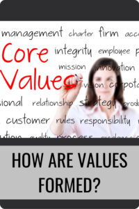 How Are Values Formed Pin