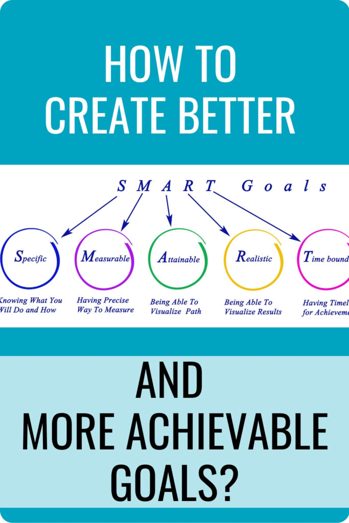 How to Create Better And More Achievable Goals Pin