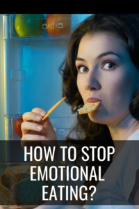 How to Stop Emotional Eating Pin