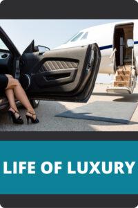 Life of Luxury Pin