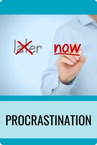 Procrastination Pin