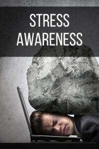 Stress Awareness Pin