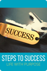 steps to success Pin