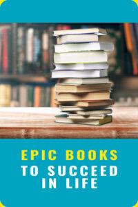 Epic books Pin